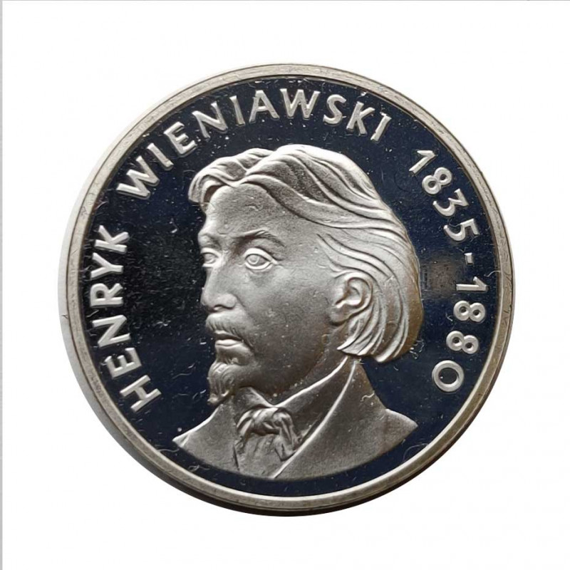Silbermünze 100 Złote Polen Henryk Wieniawski Jahr 1979 | Numismatik Store - Alotcoins