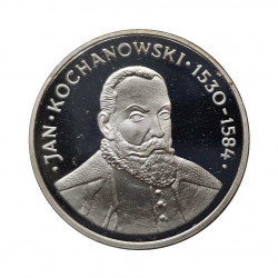 Silver Coin 100 Zloty Poland Kochanowski Year 1980 Proof | Numismatics Shop - Alotcoins