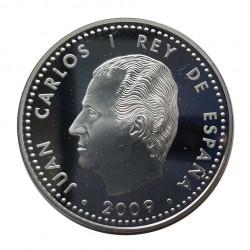 Silver Coin 10 Euros Spain King Felipe II Year 2009 | Numismatics Store - Alotcoins