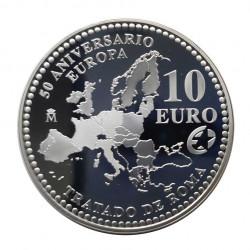 Moneda 10 Euros España Tratado Roma Año 2007 | Monedas de colección - Alotcoins