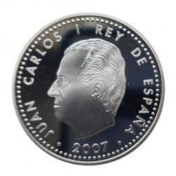 Silbermünze 10 Euro Spanien Vertrags Rom Jahr 2007 | Numismatik Shop - Alotcoins