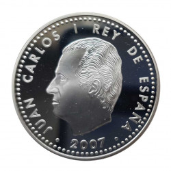 Silver Coin 10 Euros Spain Treaty Rome Year 2007   Numismatics Store - Alotcoins
