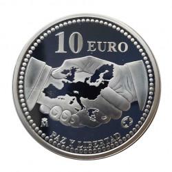 Silbermünze 10 Euro Spanien Frieden und Freiheit Jahr 2005 | Numismatik Store - Alotcoins