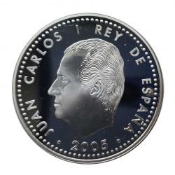 Silbermünze 10 Euro Spanien Frieden und Freiheit Jahr 2005 | Numismatik Shop - Alotcoins