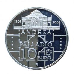 Moneda 10 Euros Italia Andrea Palladio Año 2008 | Monedas de colección - Alotcoins