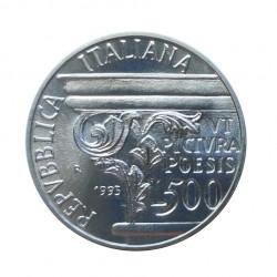 Silver Coin 500 Lire Italy Horatius Year 1993 | Numismatics Shop - Alotcoins