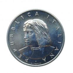 Silver Coin 500 Lire Italy Lorenzo de' Medici Year 1992 | Numismatics Shop - Alotcoins