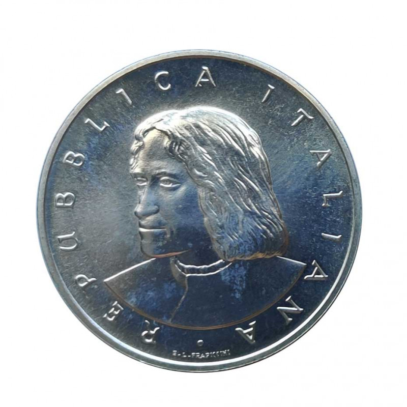 Moneda 500 Liras Italia Lorenzo de Médici Año 1992 Sin Circular SC | Numismática Española - Alotcoins