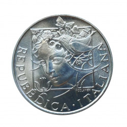 Silver Coin 500 Lire Italy Flora & Fauna Year 1992 Uncirculated UNC | Numismatics Shop - Alotcoins