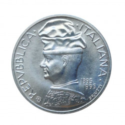 Silver Coin 5,000 Lire Italy Pisanello Year 1995 Uncirculated UNC | Numismatics Store - Alotcoins