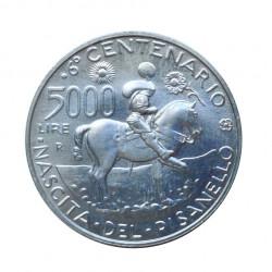 Gedenkmünze 5.000 Lire Italien Pisanello Jahr 1995 Unzirkuliert UNZ | Numismatik Store - Alotcoins