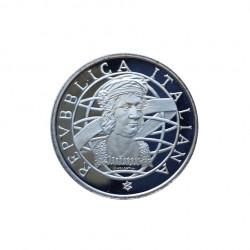 Moneda 200 Liras Italia Descubrimiento América Colombo Año 1989 | Tienda Numismática - Alotcoins