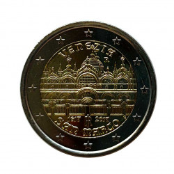 Commemorative 2 Euros Coin Italy St. Mark's Basilica Venice Year 2017 Uncirculated UNC | Numismatics Shop - Alotcoins