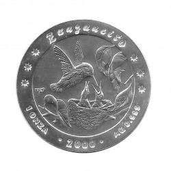 Silver Coin 10 Pesos Cuba Bee Hummingbird Year 2000 Proof | Numismatics Shop - Alotcoins