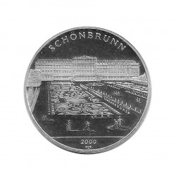 Silver Coin 10 Pesos Cuba Schönbrunn Palace Year 2000 Proof | Numismatics Shop - Alotcoins