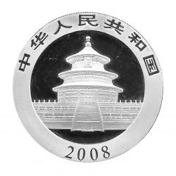 Münze China 10 Yuan Jahr 2008 Silber Panda Welpe und Mutter Proof