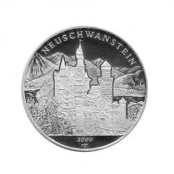 Silbermünze 10 Peso Kuba Schloss Neuschwanstein Bayern Jahr 2000 Polierte Platte PP | Sammelmünzen - Alotcoins