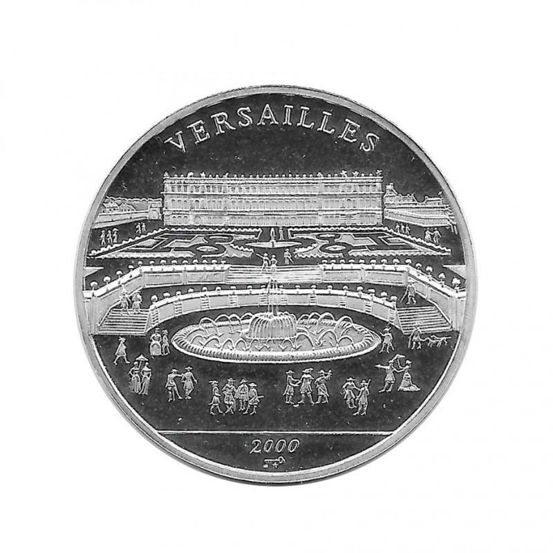 Silbermünze 10 Peso Kuba Schloss von Versailles Frankreich Jahr 2000 Polierte Platte PP | Sammelmünzen - Alotcoins