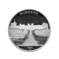 Silbermünze 10 Peso Kuba Schloss von Windsor Großbritannien Jahr 2000 Polierte Platte PP | Sammelmünzen - Alotcoins