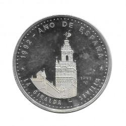 Moneda Plata 10 Pesos Cuba La Giralda Sevilla Año 1991 Proof | Monedas de colección - Alotcoins