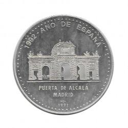 Silbermünze 10 Peso Kuba Alcala-Tor von Madrid Jahr 1991 Polierte Platte PP | Sammelmünzen - Alotcoins