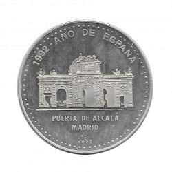 Silver Coin 10 Pesos Cuba Alcala Gate Madrid Year 1991 Proof | Collectible Coins - Alotcoins