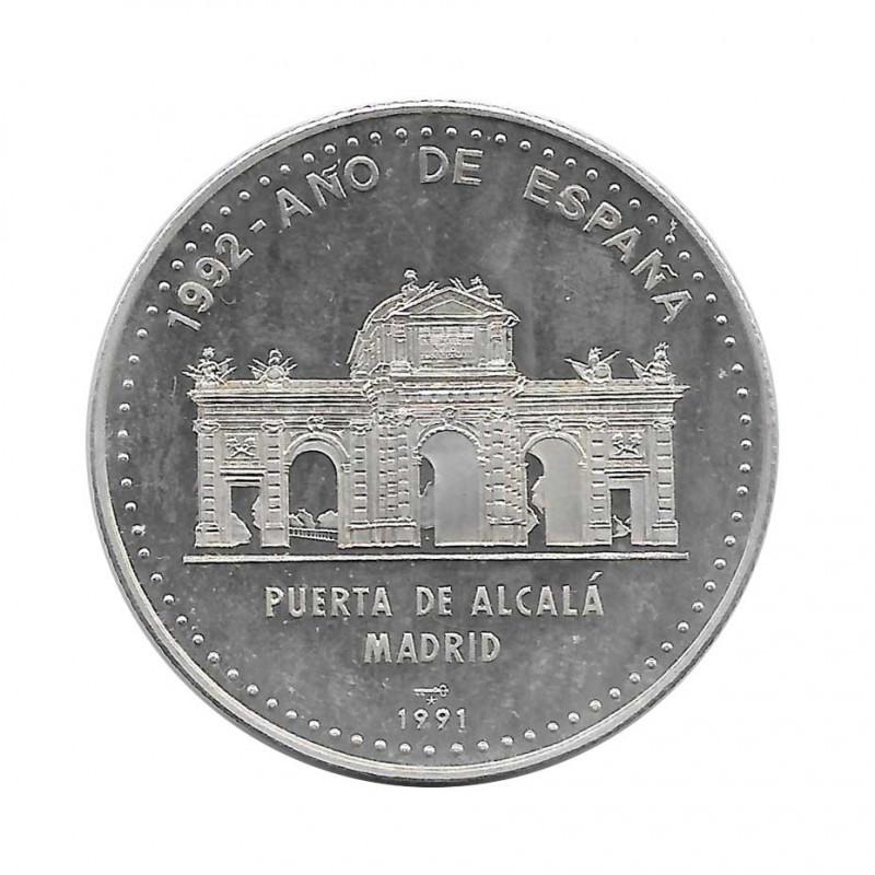 Silbermünze 10 Peso Kuba Alcala-Tor von Madrid Jahr 1991 Polierte Platte PP   Sammelmünzen - Alotcoins