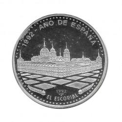 Moneda Plata 10 Pesos Cuba Monasterio El Escorial Año 1991 Proof | Monedas de colección - Alotcoins