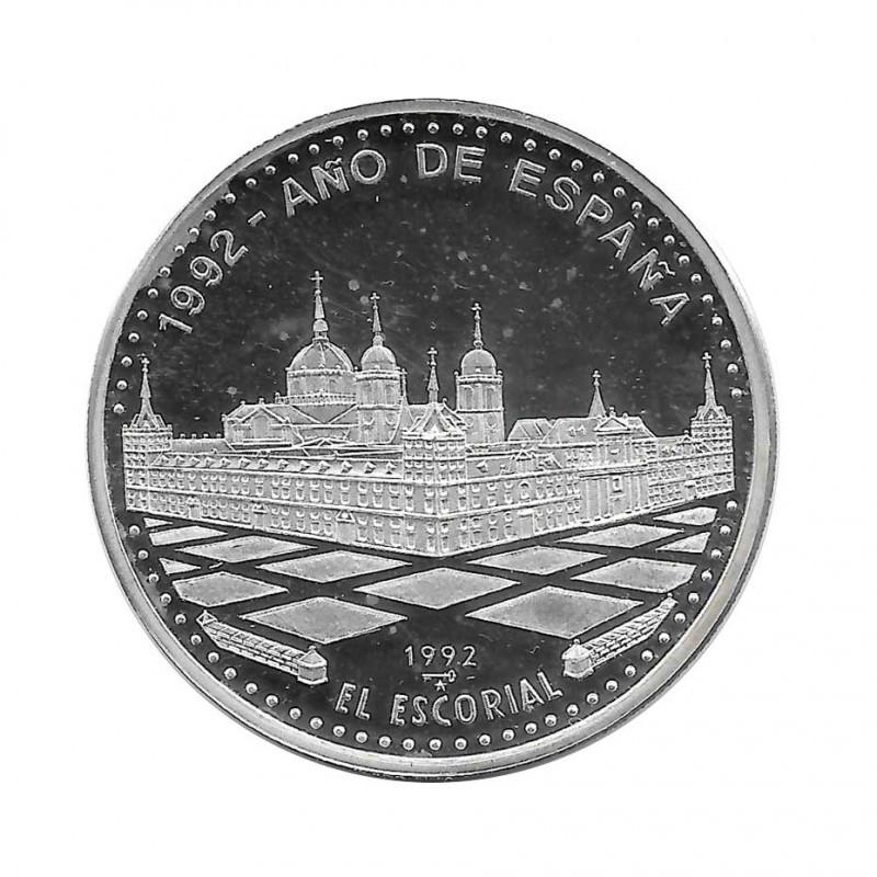 Silver Coin 10 Pesos Cuba El Escorial Monastery Year 1992 Proof   Collectible Coins - Alotcoins