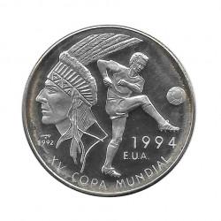 Silbermünze 10 Peso Kuba Fußball-Weltmeisterschaft 1994 USA Jahr 1992 Polierte Platte PP | Sammelmünzen - Alotcoins