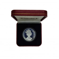 Moneda 35 ECUs / 25 Libras Gibraltar Caballero Año 1992 Proof | Tienda Numismática - Alotcoins