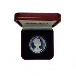 Commemorative Silver Coin 35 ECU / 25 Pounds Gibraltar Knight Year 1992 Proof | Numismatics Shop - Alotcoins