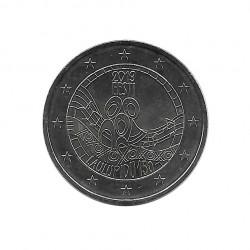 Moneda 2 Euros Conmemorativa Estonia Festival Canción Año 2019 Sin circular SC | Monedas de colección - Alotcoins