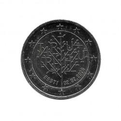 2 Euro Gedenkmünze Estland 100 Jahre Tartu-Friedensvertrag Jahr 2020 Unzirkuliert UNZ | Sammlermünzen - Alotcoins