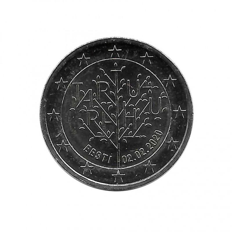 2 Euros Commemorative Coin Estonia Tartu Centenary Peace Treaty Year 2020 Uncirculated UNC | Collectible Coins - Alotcoins