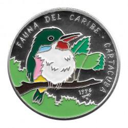 Silver Coin 10 Pesos Cuba Cuban Tody Bird Year 1996 Proof | Collectible Coins - Alotcoins