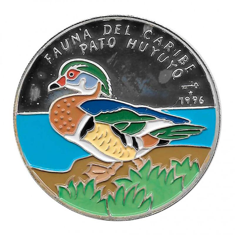 Silbermünze 10 Peso Kuba Kubanischer Holzente Jahr 1996 Polierte Platte PP   Sammelmünzen - Alotcoins