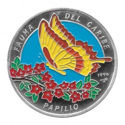 Silbermünze 10 Peso Kuba Kubanischer Schwalbenschwanz-Schmetterling Jahr 1996 Polierte Platte PP | Sammelmünzen - Alotcoins