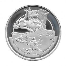 Silver Coin 10 Euros Belgium Expansion European Union Year 2004 | Collectible Coins - Alotcoins