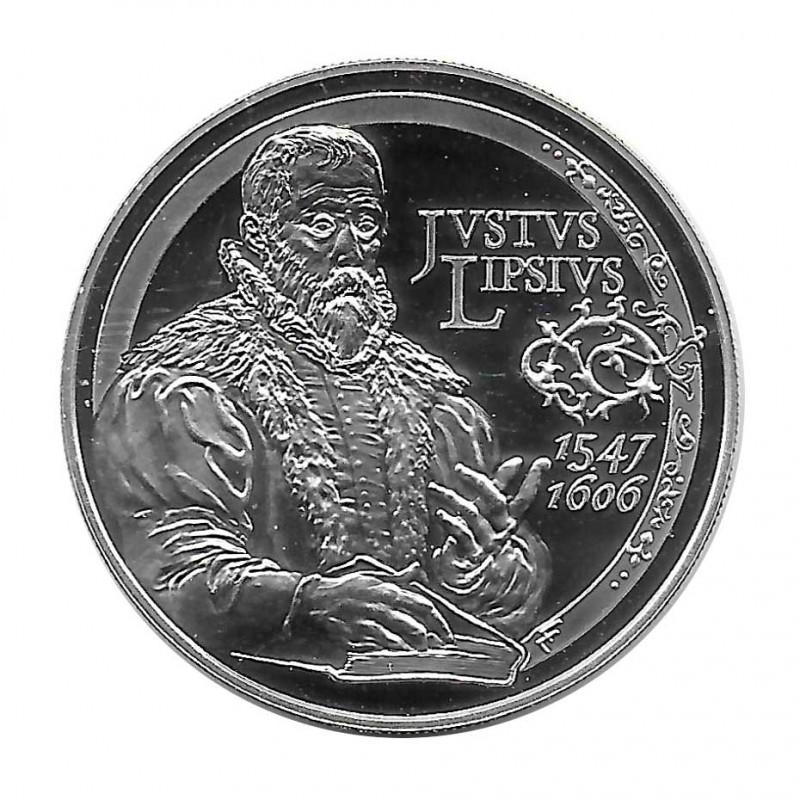 Moneda de plata 10 euros Bélgica Justus Lipsius Año 2006 | Monedas de colección - Alotcoins