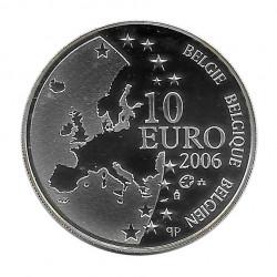 Moneda de plata 10 euros Bélgica Justus Lipsius Año 2006 | Numismática española - Alotcoins