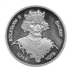 Moneda de plata 200 Zlotys Polonia Bolesław I Chrobry Año 1981 | Monedas de colección - Alotcoins