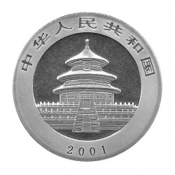 Coin China Year 2001 Silver Panda 10 Yuan Proof