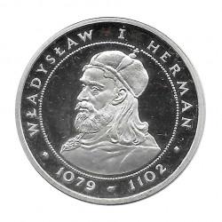 Silbermünze 200 Złote Polen Vladislao I Herman Jahr 1981 | Gedenkmünzen - Alotcoins
