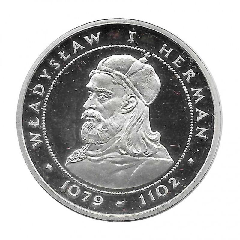 Moneda de plata 200 Zlotys Polonia Vladislao I Herman Año 1981 | Monedas de colección - Alotcoins