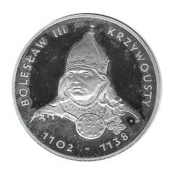 Silbermünze 200 Złote Polen Bolesław III Krzywousty Jahr 1982 | Gedenkmünzen - Alotcoins