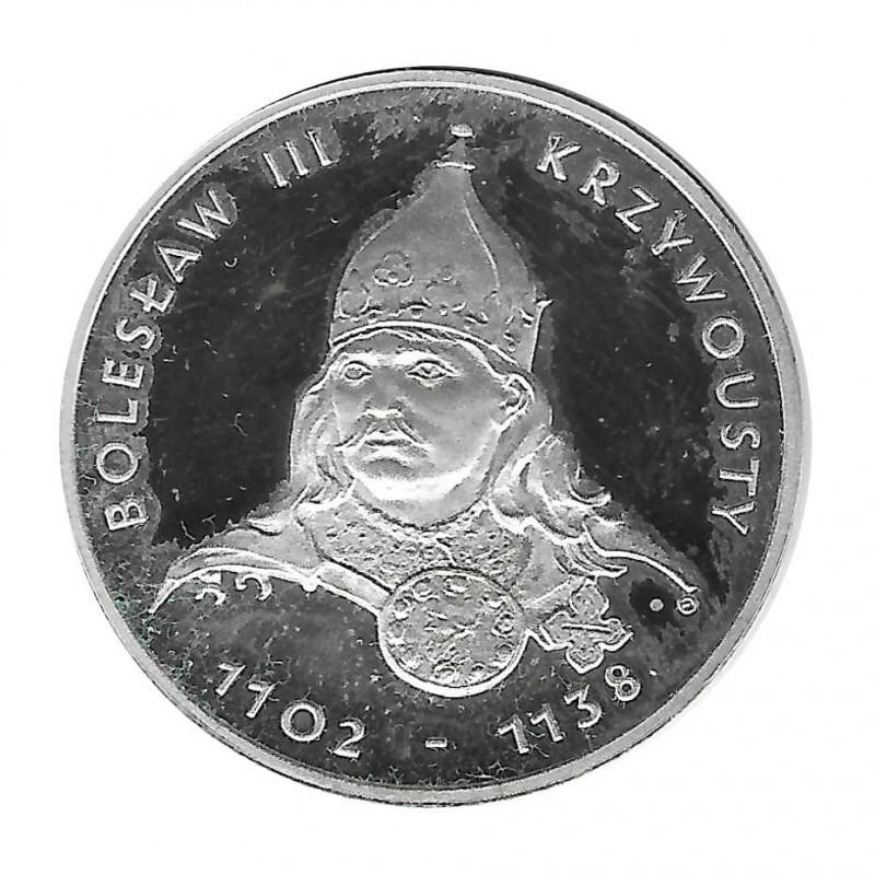 Silver Coin 200 Złotych Poland Bolesław III Krzywousty Year 1982 | Collectible Coins - Alotcoins