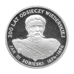 Silbermünze 200 Złote Polen Jan III Sobieski Jahr 1983 Polierte Platte PP | Sammlermünzen - Alotcoins