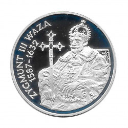 Silver Coin 10 Złotych Poland Sigismund III Vasa Year 1998 Proof  | Collectible Coins - Alotcoins