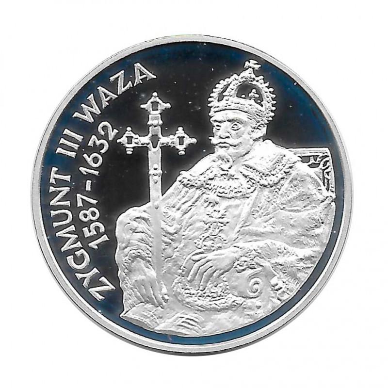 Silver Coin 10 Złotych Poland Sigismund III Vasa Year 1998 Proof  | Collectible Coins - Alotcoins